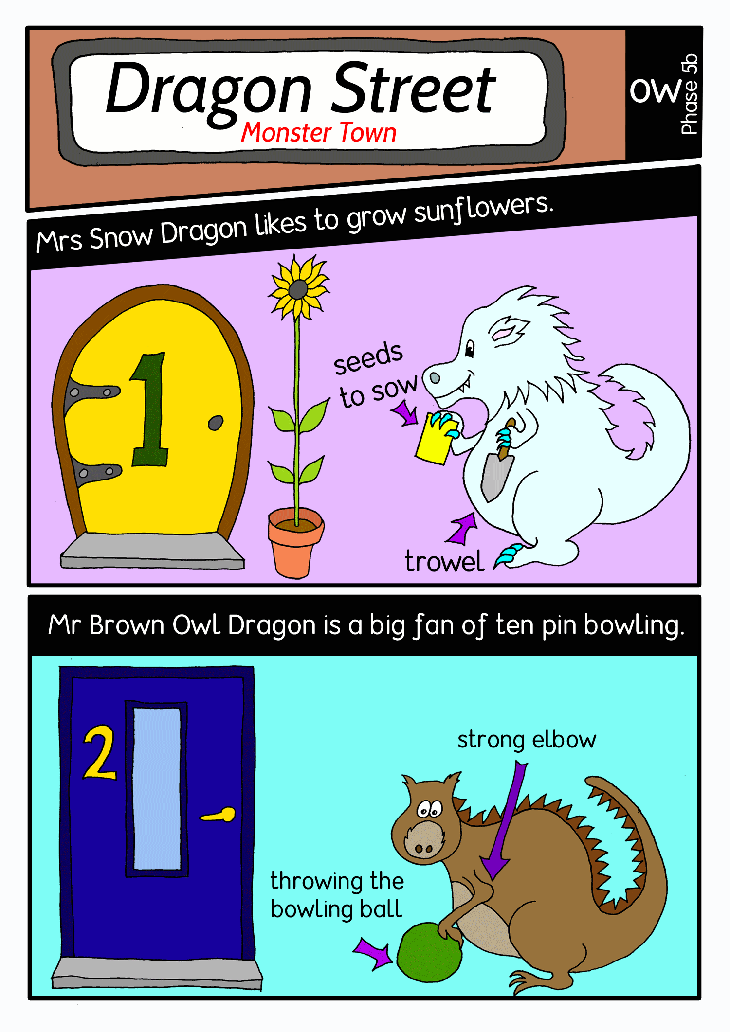 Dragon street comic panel1