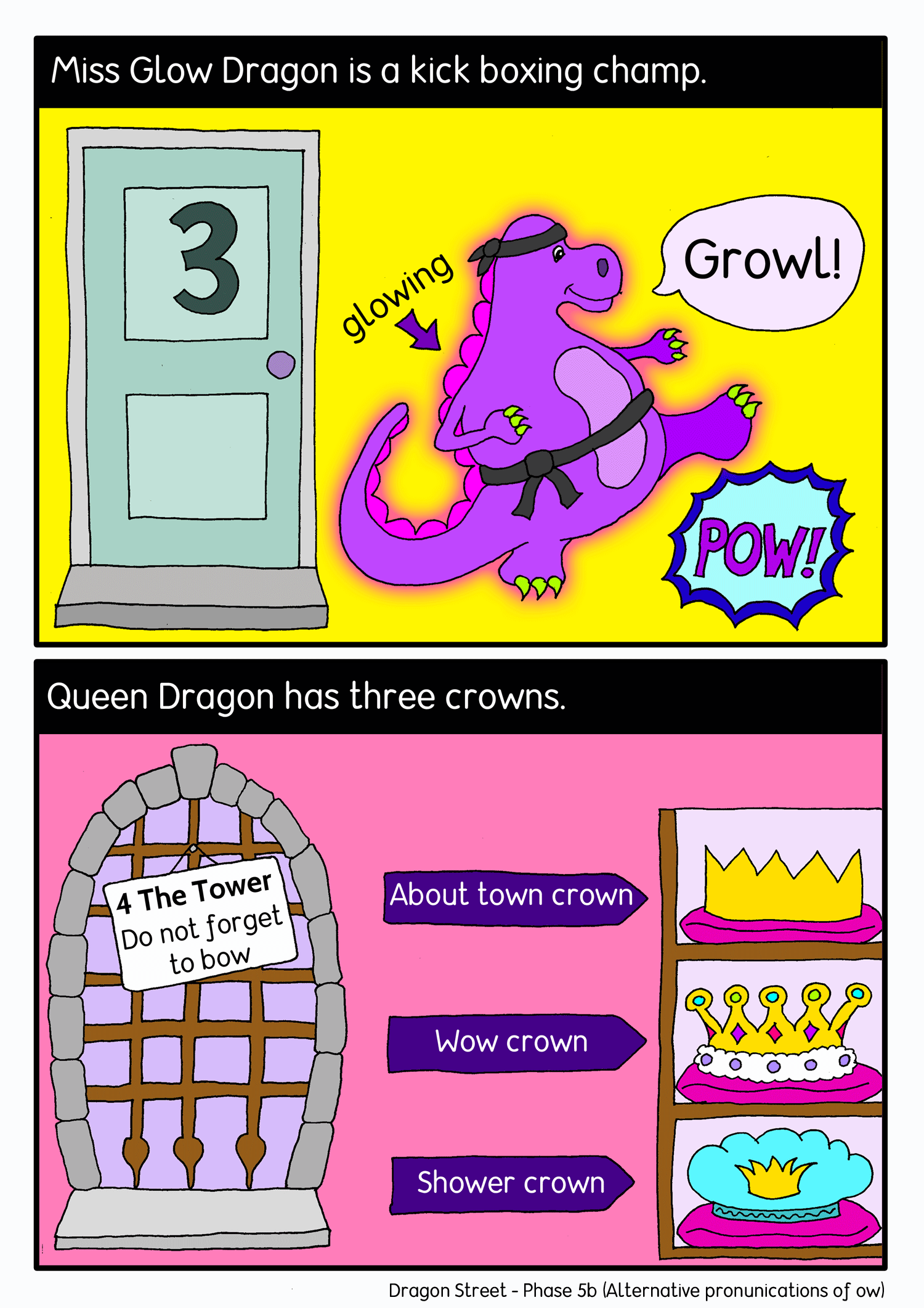 Dragon street comic panel2
