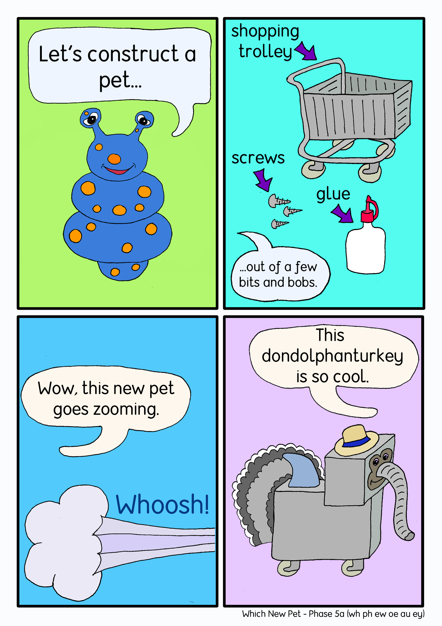 Which new pet comic panel2